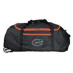 Florida Gators Wheeled Collapsible Duffle Bag