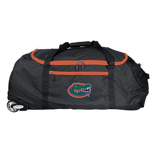 Florida Gators Wheeled Collapsible Duffle Bag
