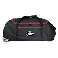 Georgia Bulldogs Wheeled Collapsible Duffle Bag