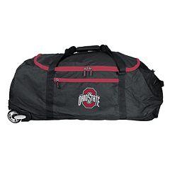 Ohio State Buckeyes Wheeled Collapsible Duffle Bag