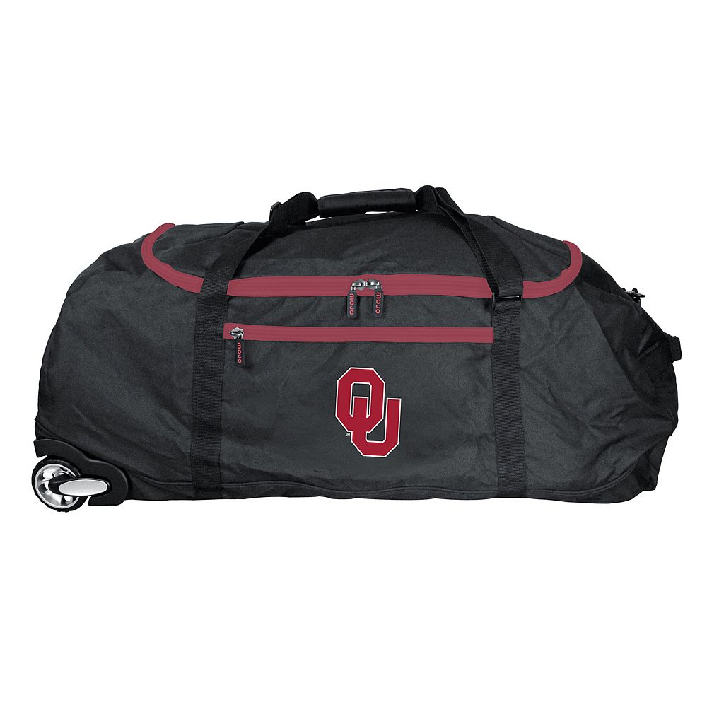 Oklahoma Sooners Wheeled Collapsible Duffle Bag