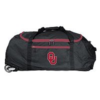 Oklahoma Sooners Wheeled Collapsible Duffle Bag