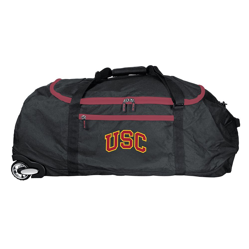 USC Trojans Wheeled Collapsible Duffle Bag