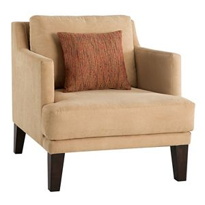 INK+IVY Alton Accent Chair & Pillow 2-piece Set