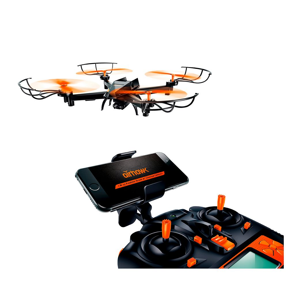 Airhawk M-13 Predator Drone with Wi-fi Live Streaming Camera