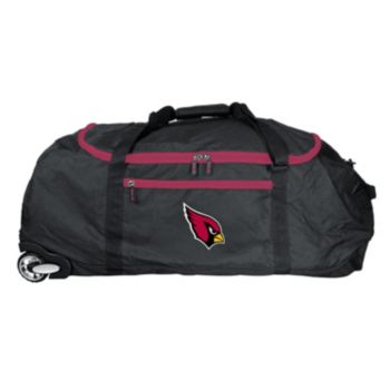 Arizona Cardinals Wheeled Collapsible Duffle Bag
