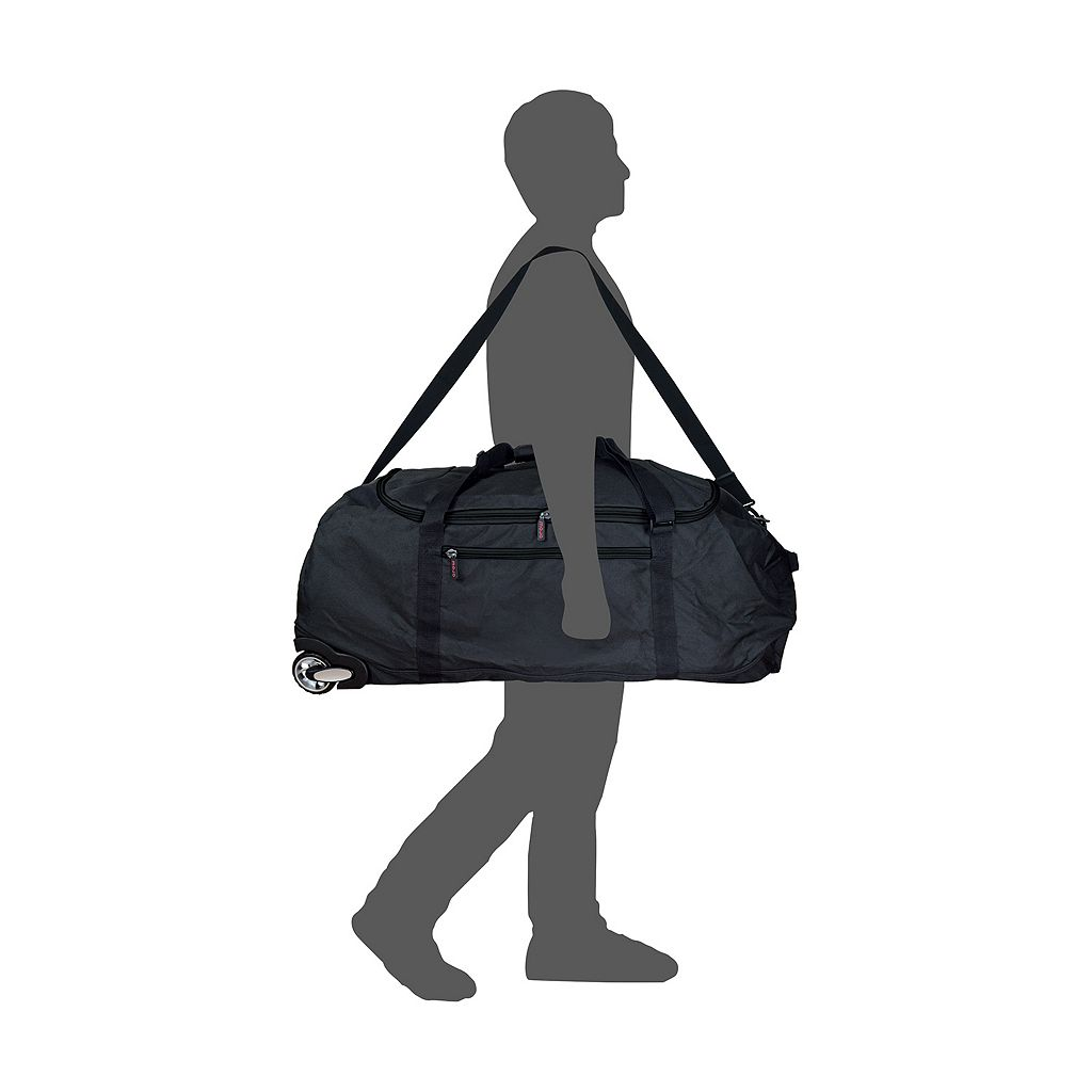 Arizona Cardinals Wheeled Collapsible Duffle Bag