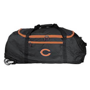 Chicago Bears Wheeled Collapsible Duffle Bag