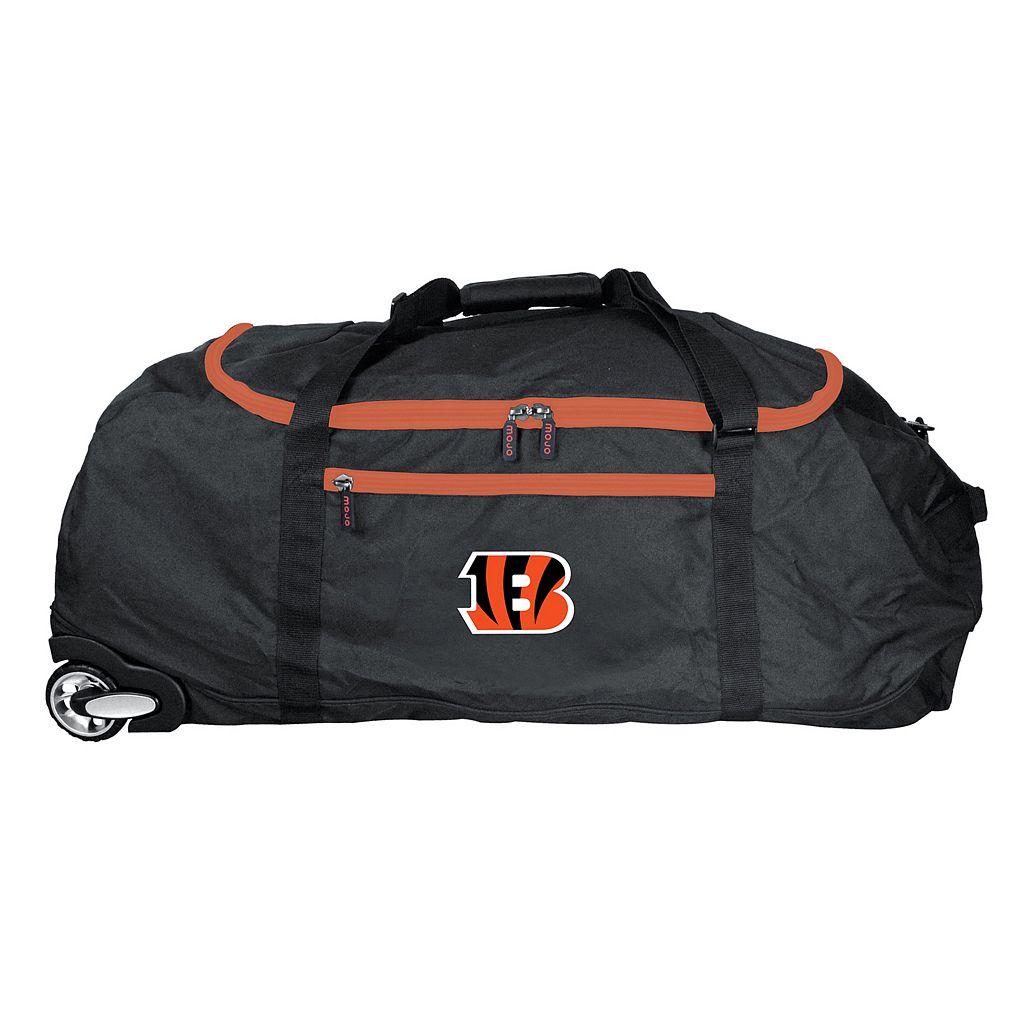 Cincinnati Bengals Wheeled Collapsible Duffle Bag
