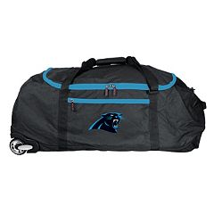 Carolina Panthers Wheeled Collapsible Duffle Bag
