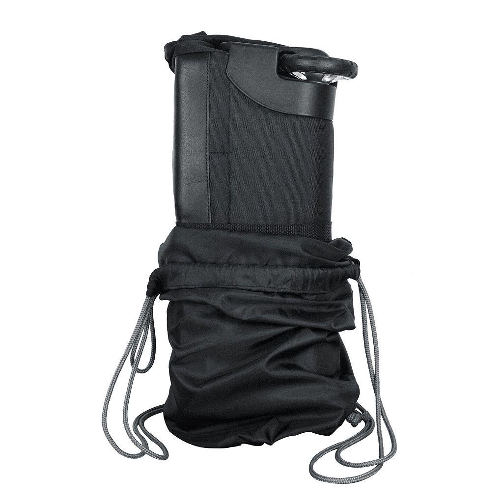 Carolina Panthers Wheeled Collapsible Duffle Bag