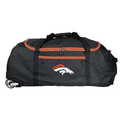 Denver Broncos Wheeled Collapsible Duffle Bag