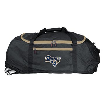 Los Angeles Rams Wheeled Collapsible Duffle Bag