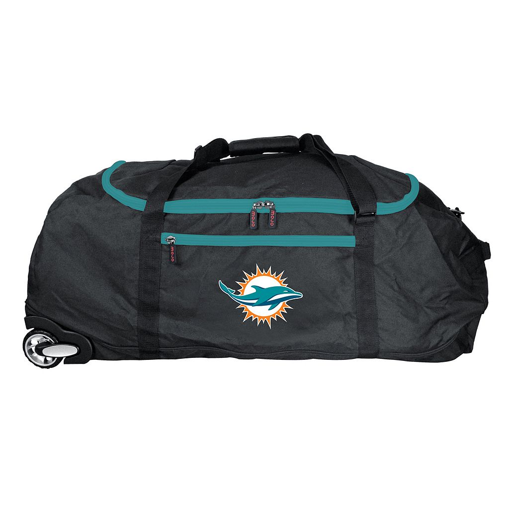 Miami Dolphins Wheeled Collapsible Duffle Bag
