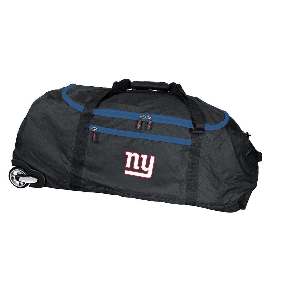 New York Giants Wheeled Collapsible Duffle Bag