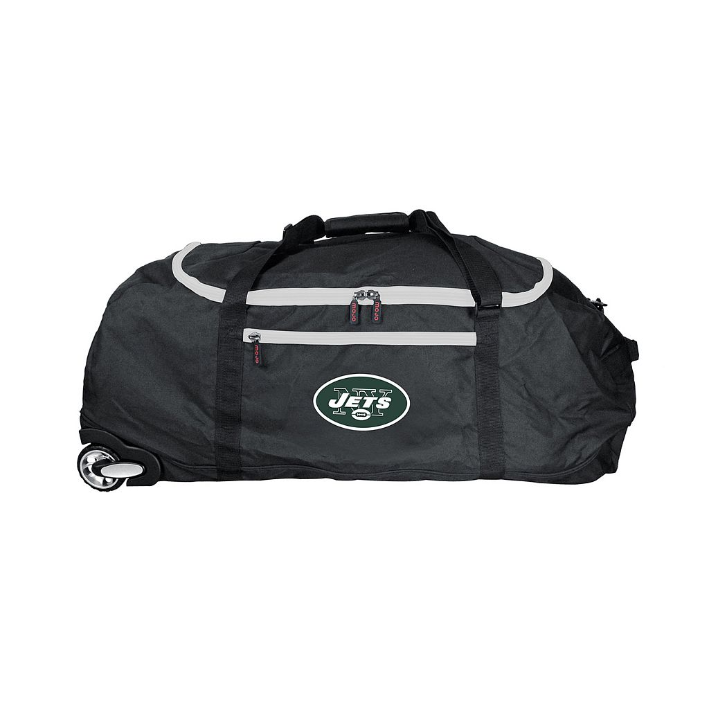 New York Jets Wheeled Collapsible Duffle Bag