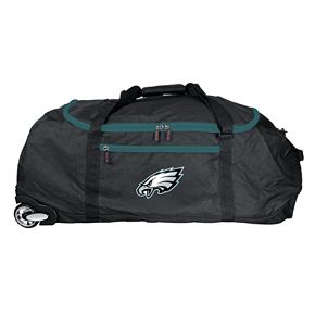 Philadelphia Eagles Wheeled Collapsible Duffle Bag