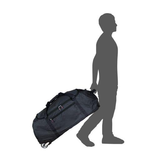 Philadelphia Eagles Wheeled Collapsible Duffle Bag