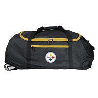 Pittsburgh Steelers Wheeled Collapsible Duffle Bag