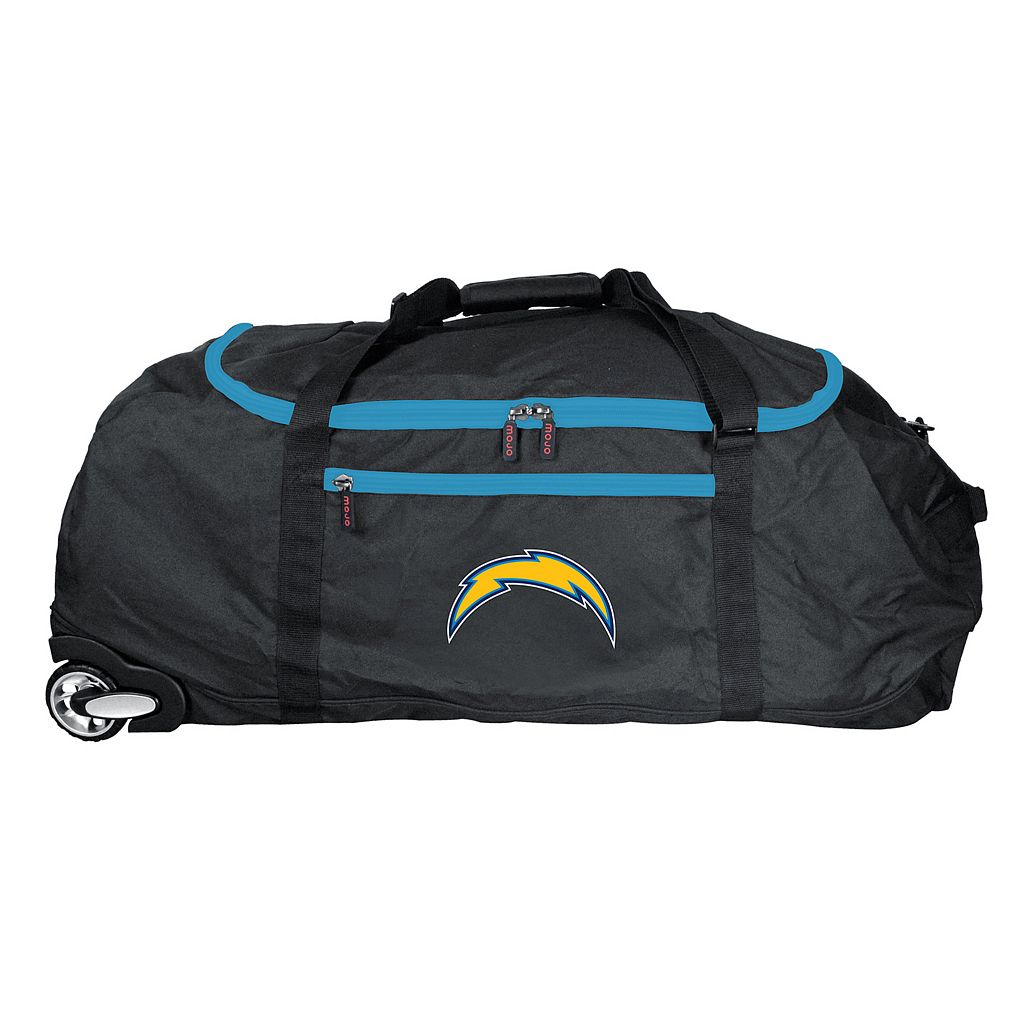San DiegoChargers Wheeled Collapsible Duffle Bag