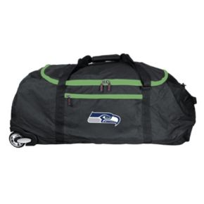 Seattle Seahawks Wheeled Collapsible Duffle Bag