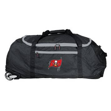 Tampa Bay Buccaneers Wheeled Collapsible Duffle Bag