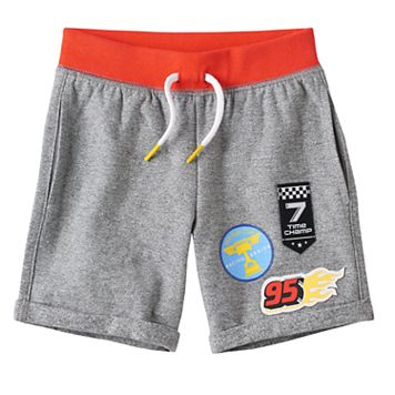 Disney / Pixar Cars 3 Toddler Boy Colorblock Patched Shorts by Jumping Beans®