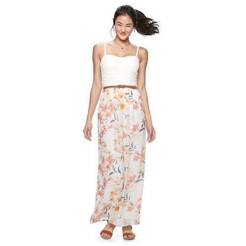 Juniors Maxi Dresses- Clothing - Kohl&-39-s