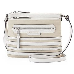 Dana Buchman Gracie Striped Crossbody Bag