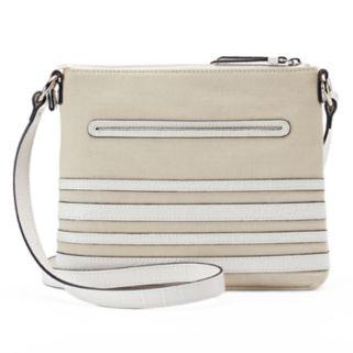 Dana Buchman Gracie Striped Crossbody Bag