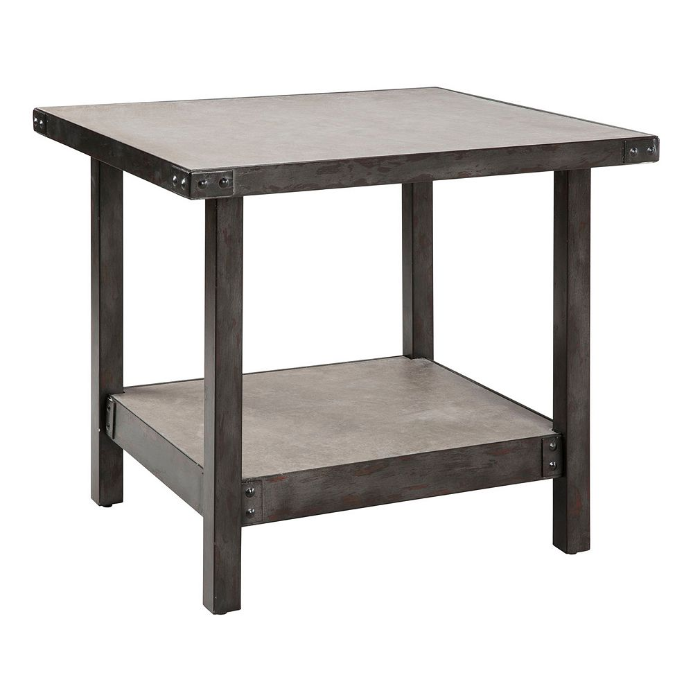INK+IVY Cody Industrial End Table