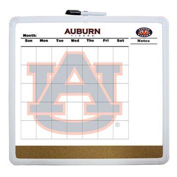 Auburn Tigers Dry Erase Cork Board Calendar