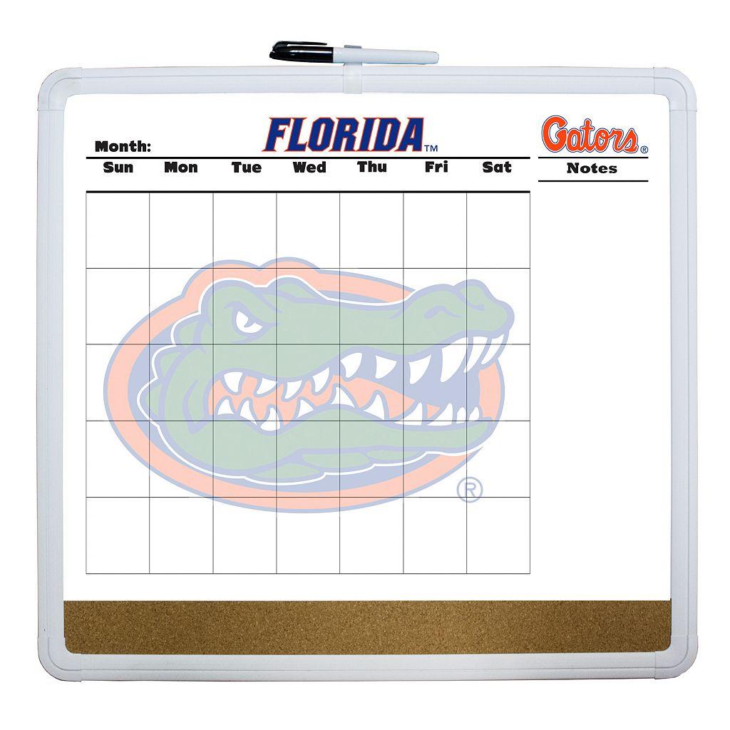 Florida Gators Dry Erase Cork Board Calendar