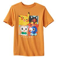 Boys 8-20 Pokémon New Starters Tee