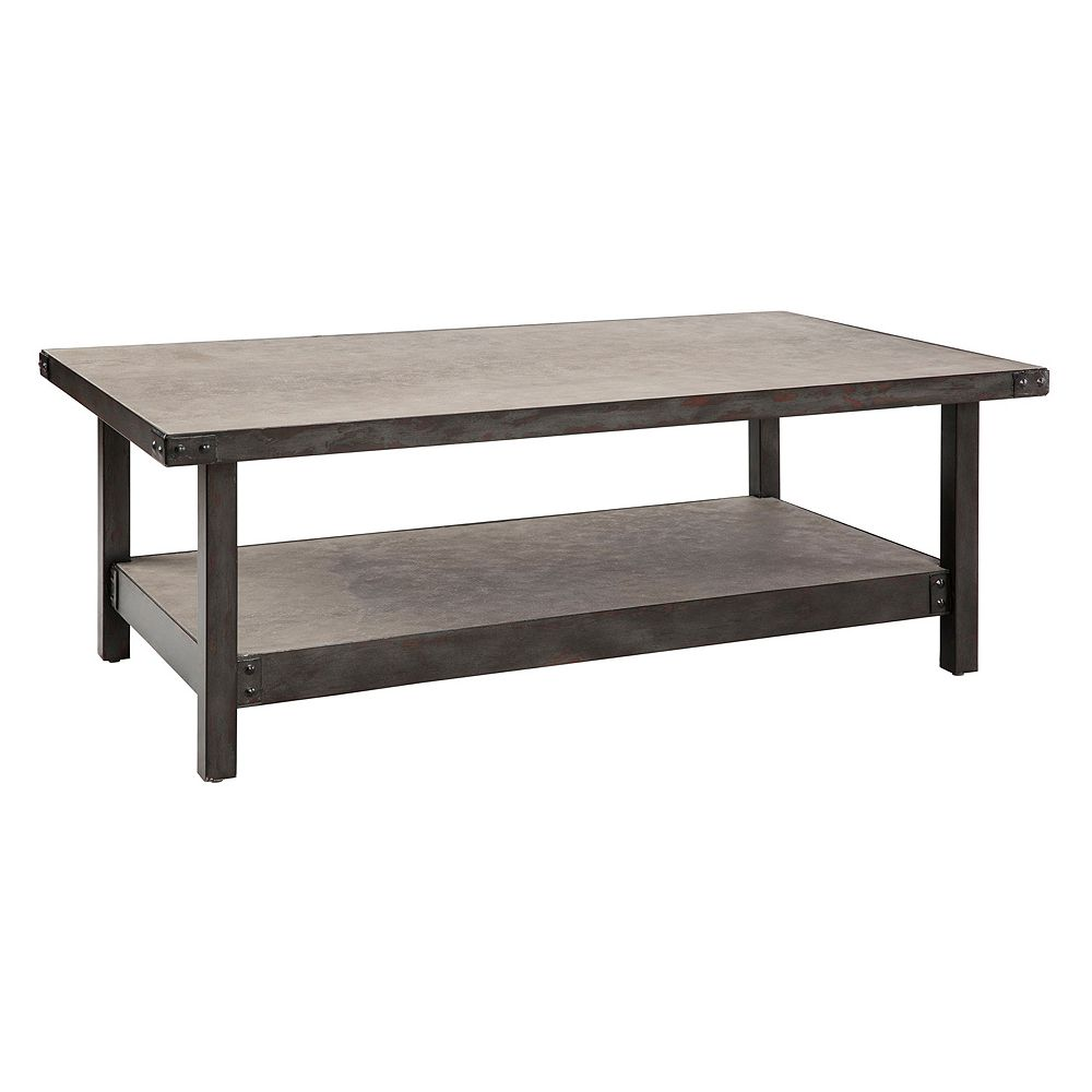 INK+IVY Cody Industrial Coffee Table