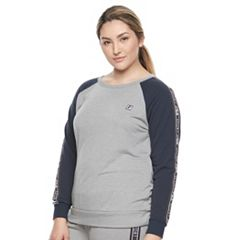 Plus Size FILA SPORT® Raglan Graphic Sweatshirt