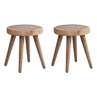 INK+IVY Arcadia Counter Stool & Accent Table 2 pc Set