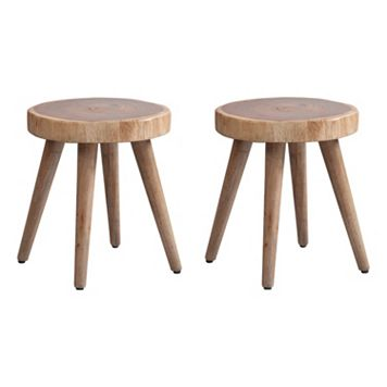 INK+IVY Arcadia Counter Stool & Accent Table 2-piece Set