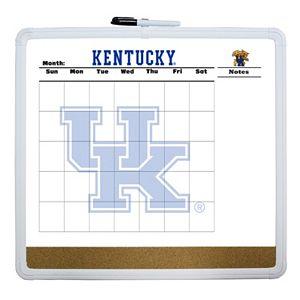 Kentucky Wildcats Dry Erase Cork Board Calendar