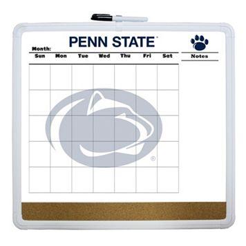 Penn State Nittany Lions Dry Erase Cork Board Calendar