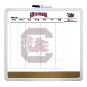 South Carolina Gamecocks Dry Erase Cork Board Calendar