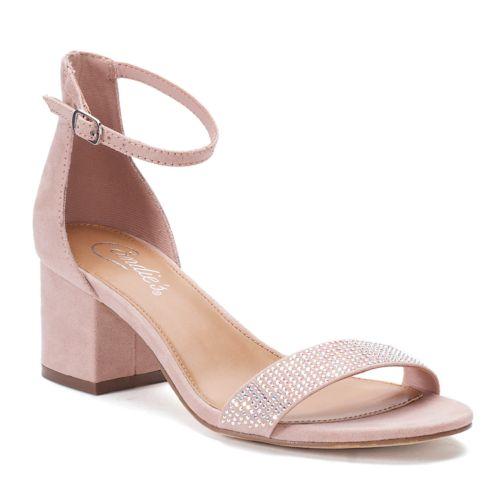 Candie's® Cosmos Women's ... Block-Heel Dress Shoes