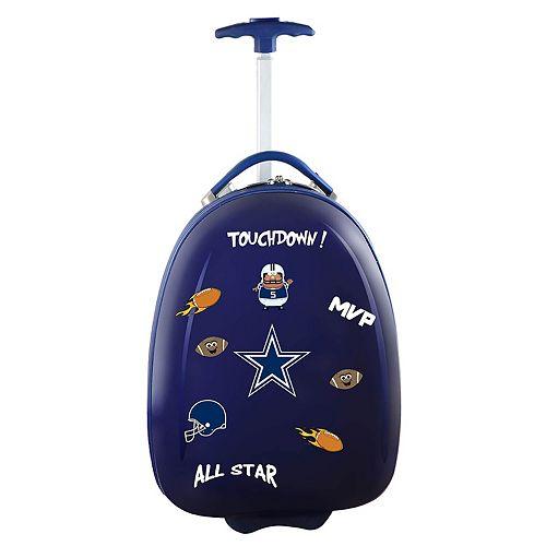 Children's Dallas Cowboys Hardshell Wheeled Luggage Pod