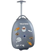 Children's Dallas Cowboys Hardshell Wheeled Luggage Pod