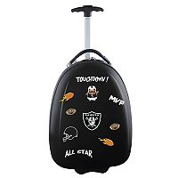 Children's Oakland Raiders Hardshell Wheeled Luggage Pod