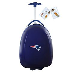 Children's New England Patriots Hardshell Wheeled Luggage Pod
