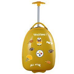 Children's Pittsburgh Steelers Hardshell Wheeled Luggage Pod