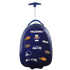 Children's Seattle Seahawks Hardshell Wheeled Luggage Pod
