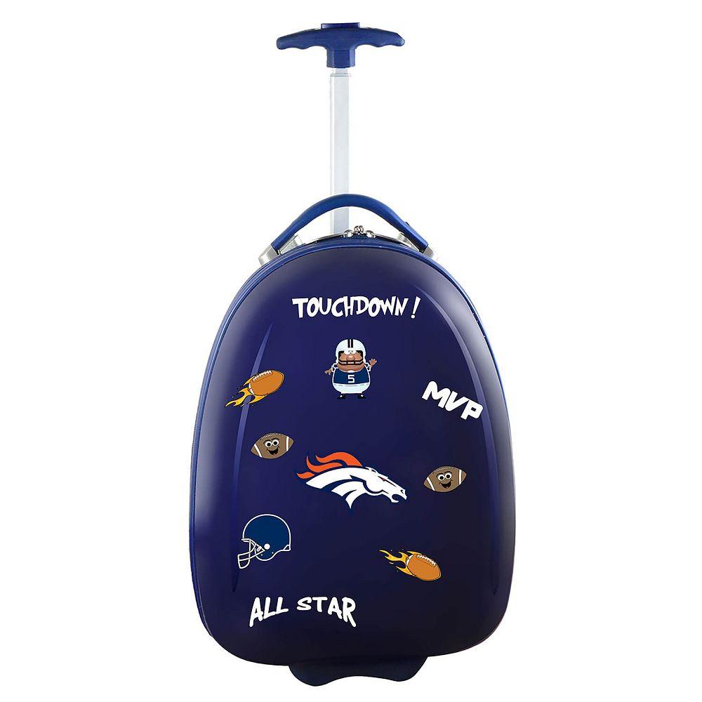 Youth Denver Broncos Hardshell Wheeled Luggage Pod