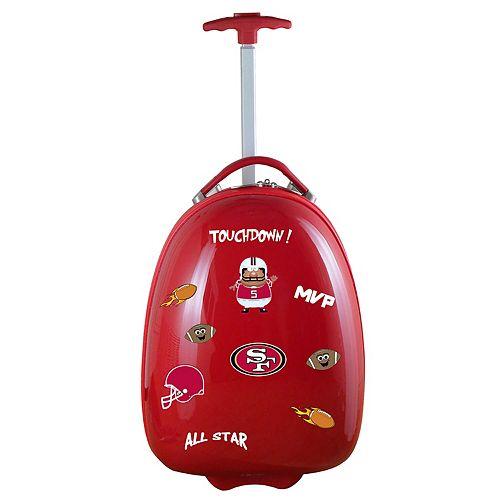 Children's San Francisco 49ers Hardshell Wheeled Luggage Pod